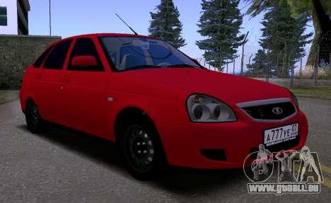 VAZ 2172 KBR pour GTA San Andreas