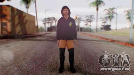 CM Punk 1 pour GTA San Andreas deuxième écran
