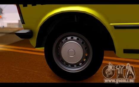 Zastava 125PZ Taxi pour GTA San Andreas vue de droite