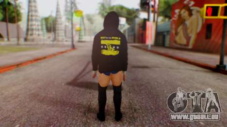 CM Punk 1 pour GTA San Andreas troisième écran