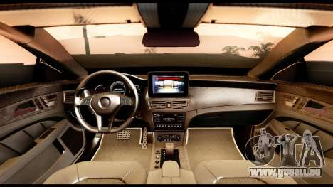 Mercedes-Benz CLS63 AMG 2015 pour GTA San Andreas vue de droite