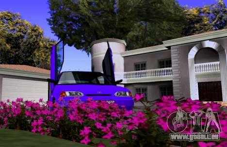 VAZ 2113 KBR pour GTA San Andreas vue arrière