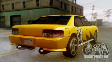 Sultan Винил из Need For Speed ProStreet für GTA San Andreas zurück linke Ansicht