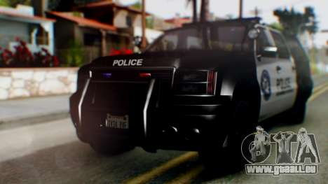 GTA 5 Police Ranger für GTA San Andreas