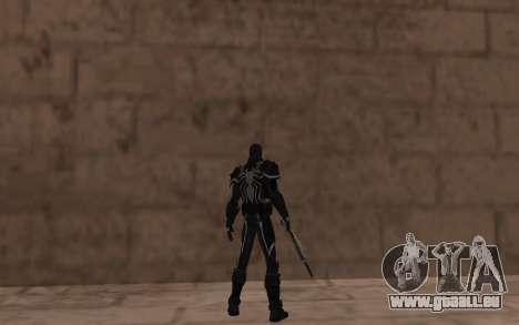 Agent de Venin par Robinosuke pour GTA San Andreas quatrième écran