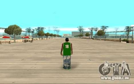 Fam3 Eli Ball pour GTA San Andreas troisième écran