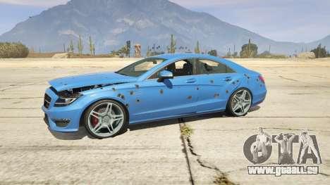 GTA 5 Mercedes-Benz CLS 6.3 AMG 1.1 volant