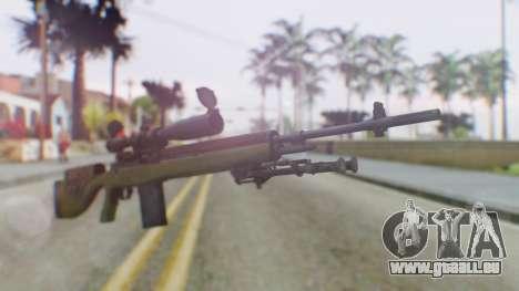 ARMA2 M14 Dmr Sniper für GTA San Andreas