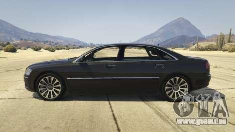 Audi A8 v1.2 für GTA 5