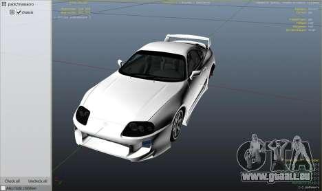 Toyota Supra JZA80 v1.4 pour GTA 5