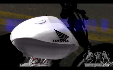 Honda CG Titan 150 Stunt Imitacion für GTA San Andreas rechten Ansicht