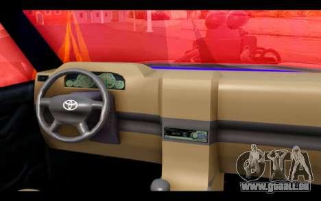 Admiral Crazy Edision Final Version 2016 für GTA San Andreas zurück linke Ansicht