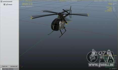 GTA 5 Hughes OH-6 Cayuse sechster Screenshot