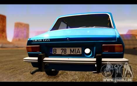 Dacia 1300 1969 für GTA San Andreas Innenansicht