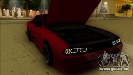 Elegy HellCat pour GTA San Andreas vue de dessous