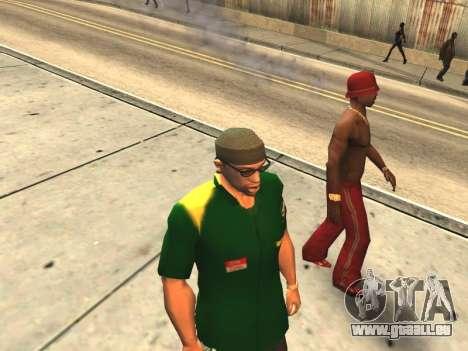 Paare Mund CJ ' Ya und Passanten für GTA San Andreas her Screenshot