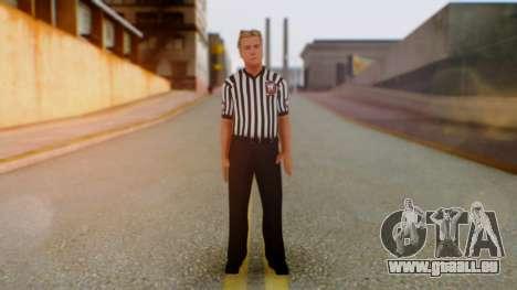 WWE Arbitro für GTA San Andreas zweiten Screenshot