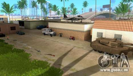 New Grove Street vehicles für GTA San Andreas