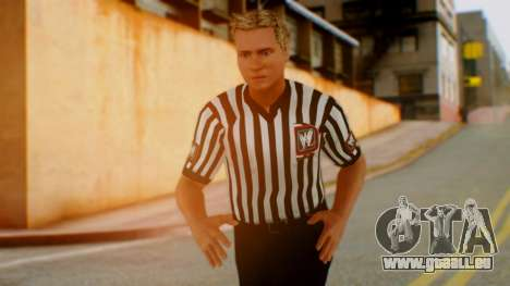 WWE Arbitro pour GTA San Andreas