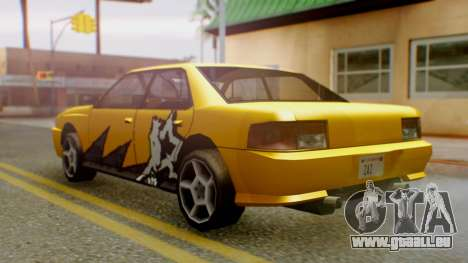 Sultan Винил из Need For Speed ProStreet für GTA San Andreas linke Ansicht