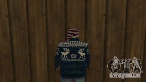 Ballas New Year Skin für GTA San Andreas dritten Screenshot