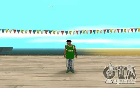 Fam3 Eli Ball für GTA San Andreas zweiten Screenshot