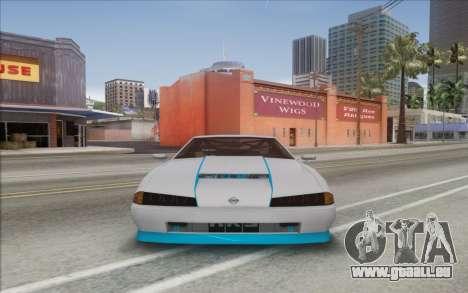 Elegy Drift King GT-1 [2.0] für GTA San Andreas zurück linke Ansicht