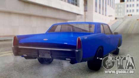 GTA 5 Vapid Chino Tunable IVF für GTA San Andreas linke Ansicht