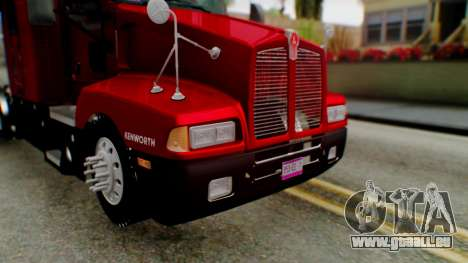 Kenworth T600 Aerocab 72 Sleeper für GTA San Andreas