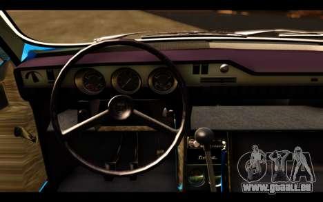 Dacia 1300 1969 für GTA San Andreas zurück linke Ansicht