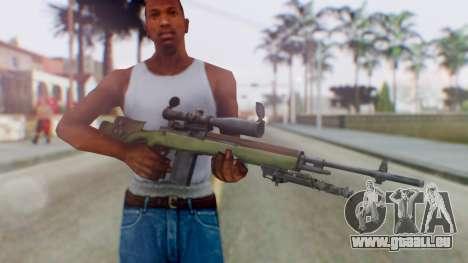 ARMA2 M14 Dmr Sniper für GTA San Andreas dritten Screenshot