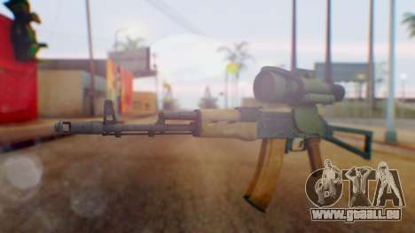 Arma OA AK-47 Night Scope für GTA San Andreas