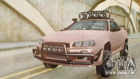 Nissan Skyline GT-R R34 RAID Spec für GTA San Andreas