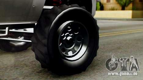 GTA 5 Vapid Sandking SWB pour GTA San Andreas sur la vue arrière gauche