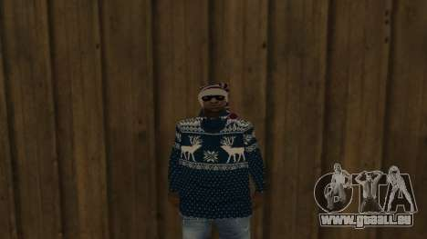 Ballas New Year Skin für GTA San Andreas zweiten Screenshot