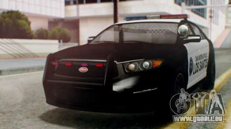 GTA 5 Police LS pour GTA San Andreas