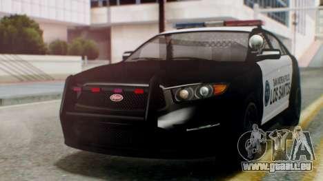 GTA 5 Police LS für GTA San Andreas