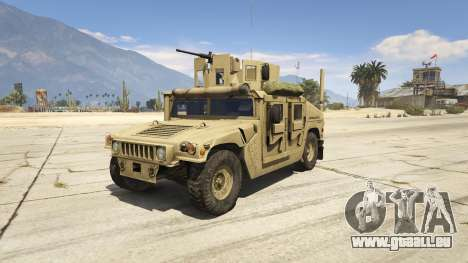 M1116 Humvee Up-Armored 1.1 pour GTA 5