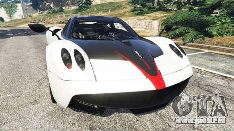 Pagani Huayra 2013 v1.1 [grey rims] pour GTA 5