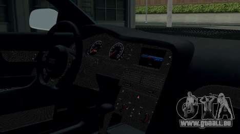 Audi RS6 Avant 2009 pour GTA San Andreas vue arrière