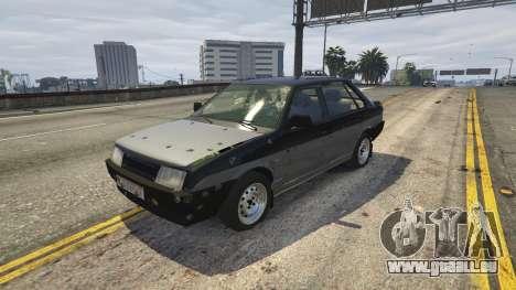 GTA 5 VAZ 21099 v3 volant