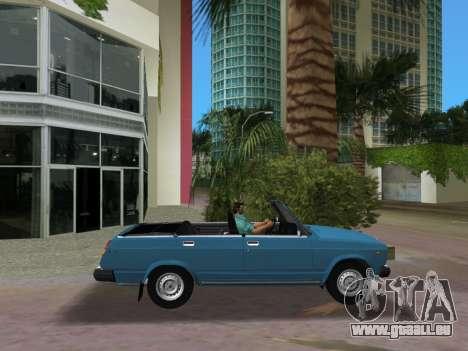 VAZ 21047 Convertible pour une vue GTA Vice City de la gauche