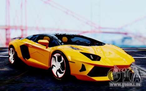 Lamborghini Aventador Mansory Carbonado Color für GTA San Andreas