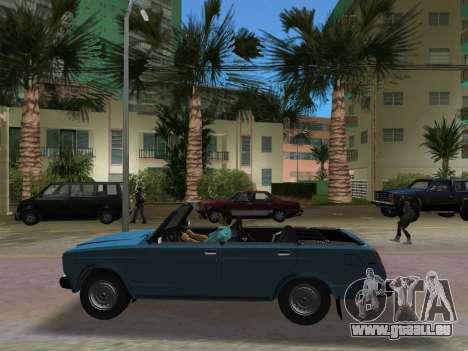 VAZ 21047 Convertible pour GTA Vice City vue arrière