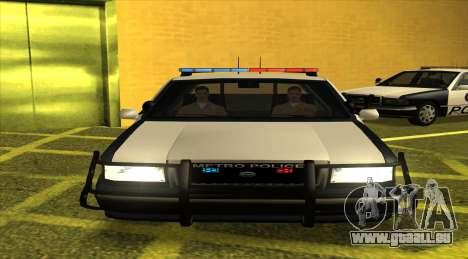 Police LS für GTA San Andreas linke Ansicht