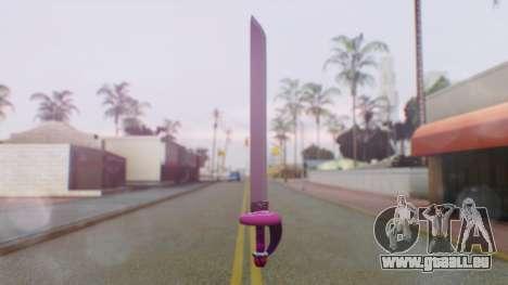 Rose Sword from Steven Universe für GTA San Andreas zweiten Screenshot