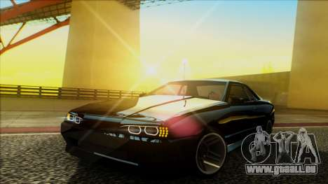 Elegy HellCat pour GTA San Andreas vue arrière