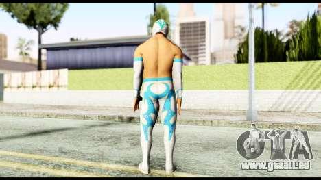 WWE Sin Cara pour GTA San Andreas troisième écran
