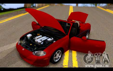 Mazda MX-5 für GTA San Andreas Seitenansicht