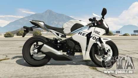 Honda CBR1000RR [Repsol White] für GTA 5